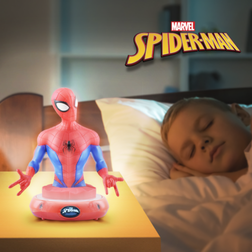 Spiderman Nighlight lifestyle