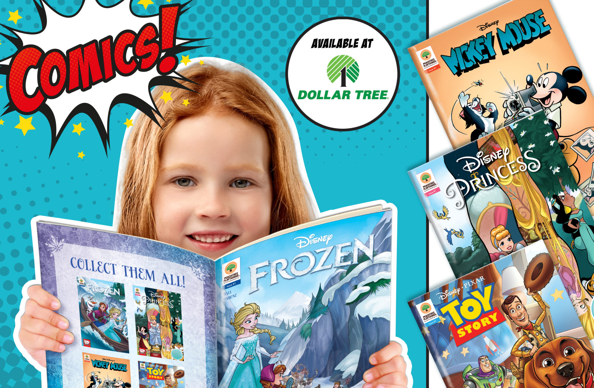 Comic Books at Dollar Tree